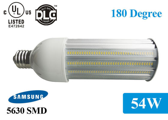 Porcellana Lampadina all'aperto di grado LED di 3000K-6000K Φ92*280mm IP65 5940lm 54w 180 fornitore
